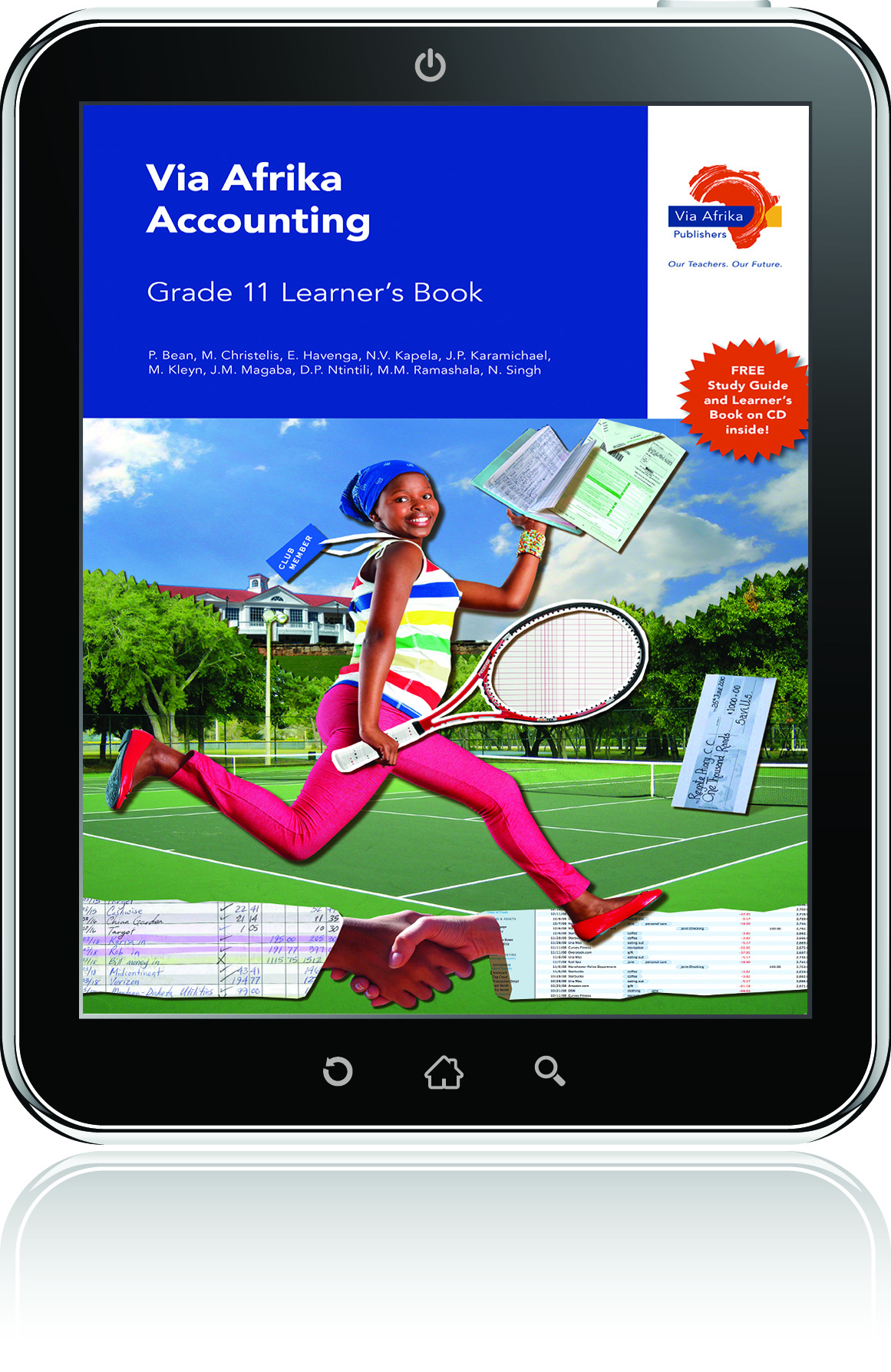eBook ePub for Tablets: Via Afrika Accounting Grade 11 Learner's Book