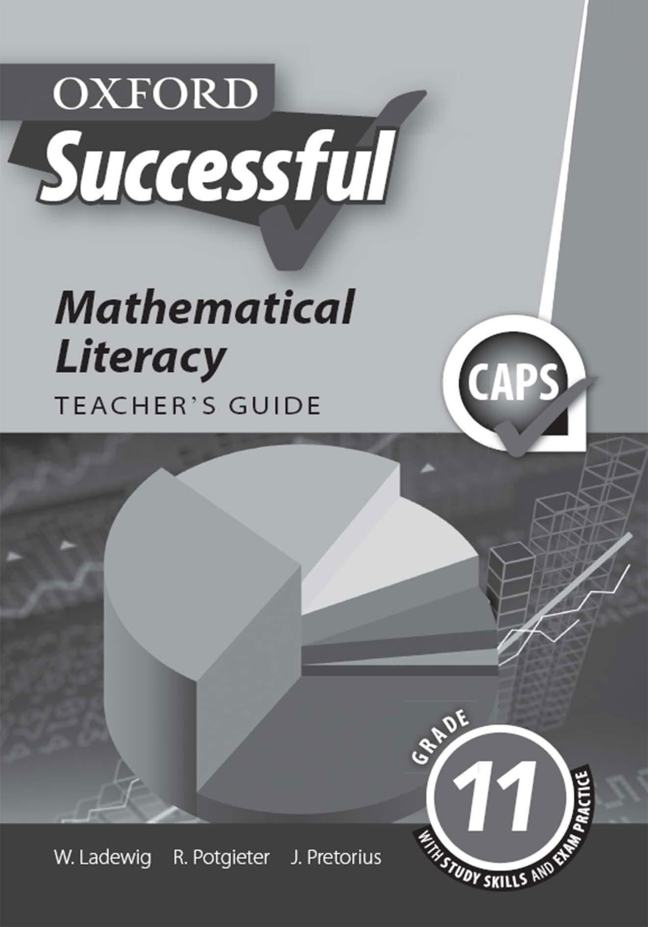Oxford Successful Mathematical Literacy Grade 11 Teacher's Guide