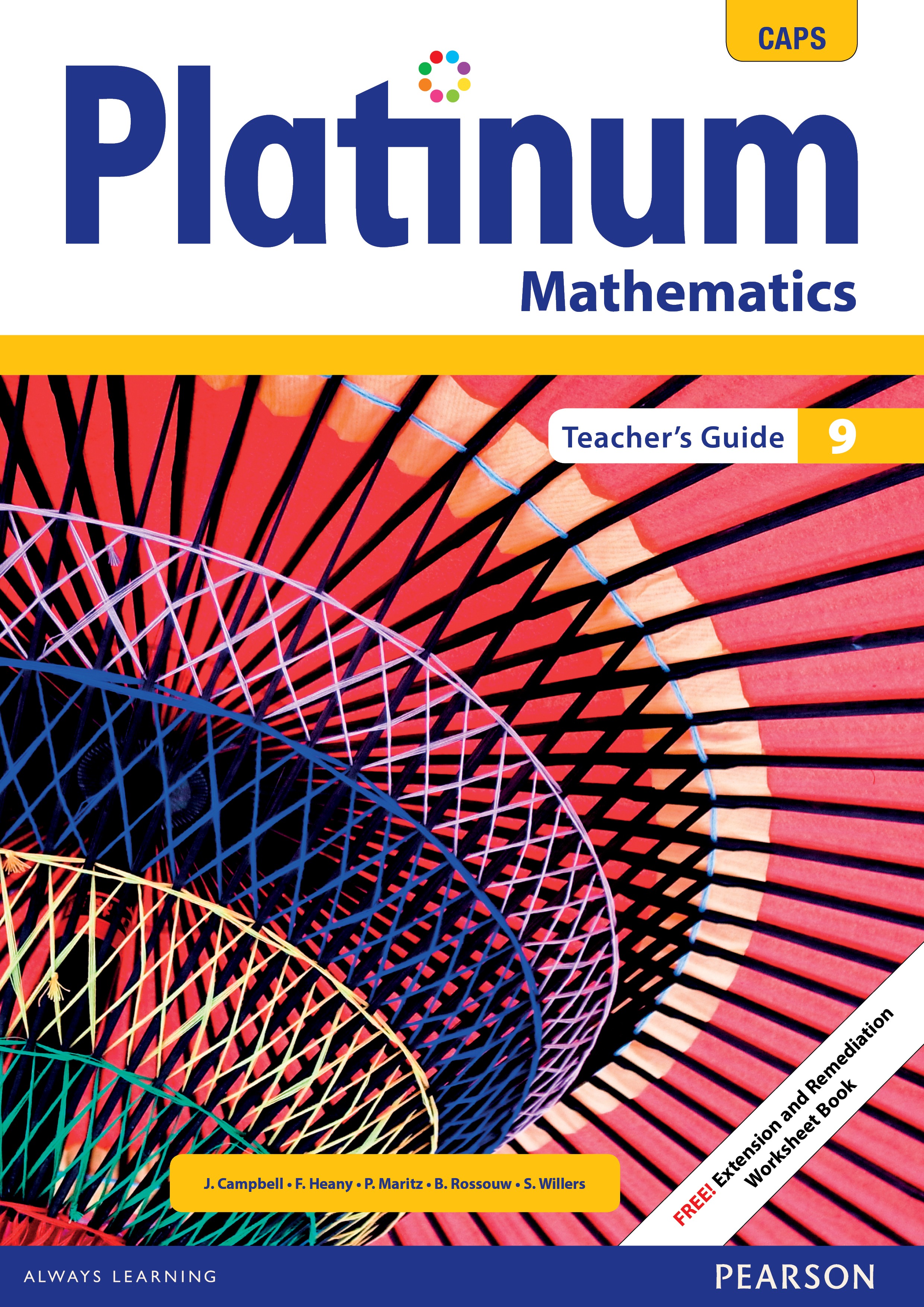 Platinum Mathematics Grade 9 Teacher's Guide ePDF (perpetual licence)