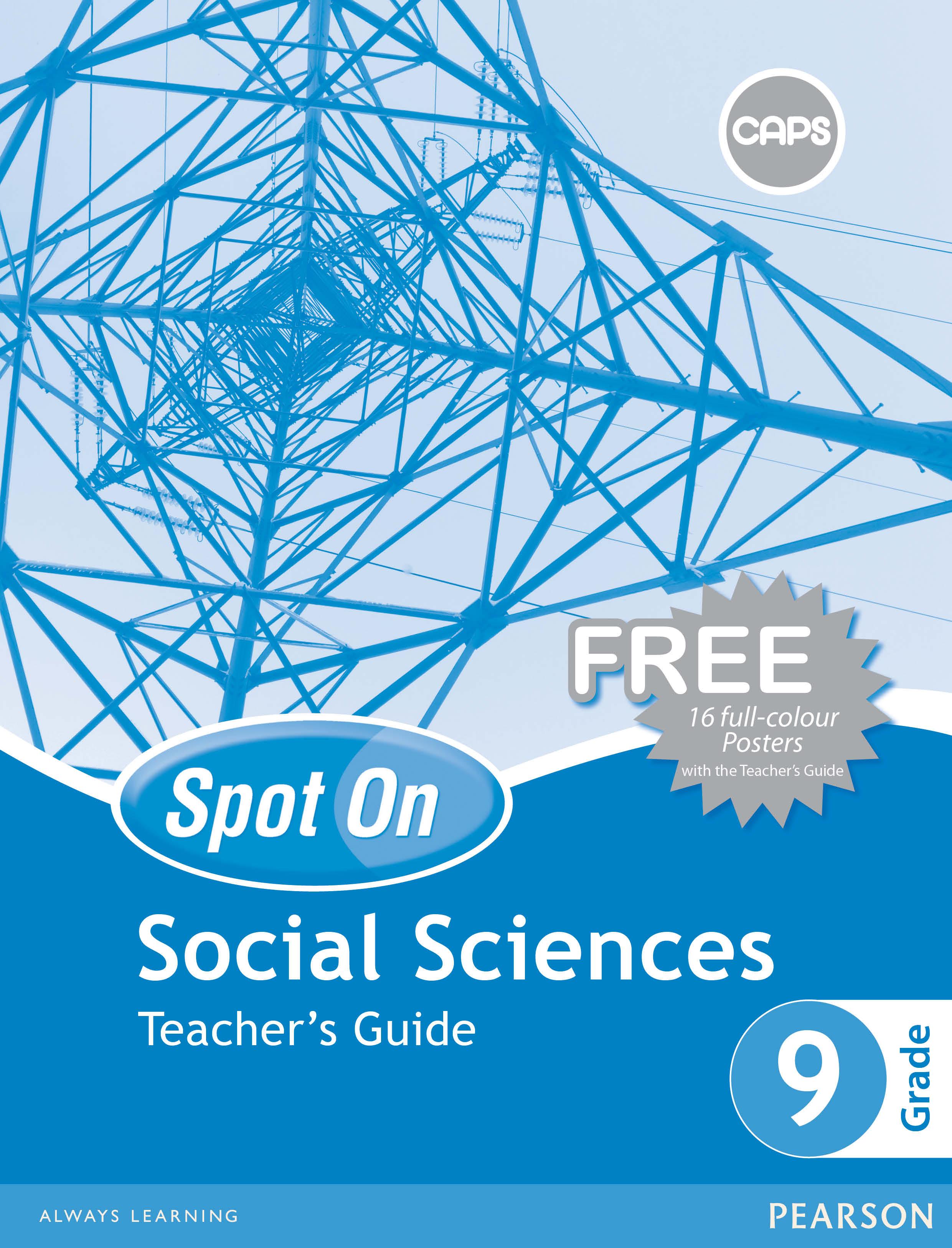 Spot On Social Sciences Grade 9 Teacher's Guide ePDF (1-year licence)