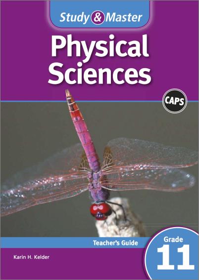 study  u0026 master physical sciences teacher u0026 39 s guide grade 11