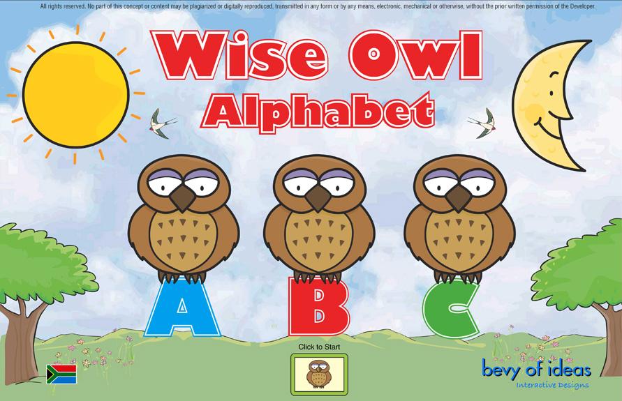 Wise Owl Alphabet   WCED ePortal